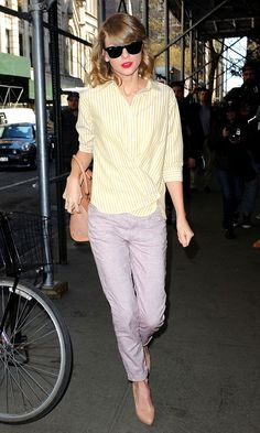 Taylor Swift In Spring Pastels