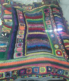 My grandson's blanket.