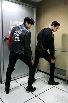 Leo and Ravi of VIXX LR -- I love how Leo is willing to do silly things nowadays.