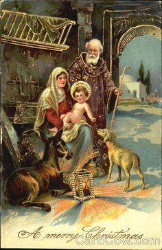 Christmas Nativity Scene Madonna & Child