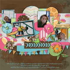 Layout using {Sweet Treats} by Made by Keuntje http://scraptakeout.com/shoppe/Sweet-Treats.html http://scraptakeout.com/shoppe/Sweet-Treats-Papers.html