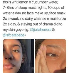 Essential Face skin care routine number this is a good way to provide proper care of your face. Daily basic skin care steps ideas of face care. Beauty Care, Beauty Skin, Health And Beauty, Diy Beauty, Beauty Guide, Homemade Beauty, Beauty Advice, Beauty Tips And Hacks, Beauty Ideas