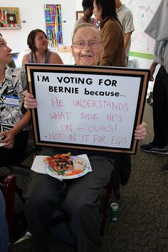 I'm voting for Bernie because Kickoff Meeting, Liberal And Conservative, Bernie Sanders For President, Pro Choice, Liberal Democrats, Presidential Candidates, We The People, Stupid People, Political Views