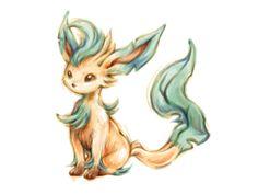 Pokemon Sketch - Leafeon by BlueSkyeMonkey.deviantart.com on @deviantART