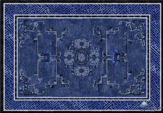 Dynastic Dream - Chinese custom area rug.  Make yours today at www.HighCountryRugs.com