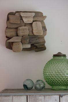 Driftwood wall art Maine driftwood sculpture by fortunesfind
