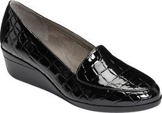 Aerosoles Women's True Match Wedge, Size: 9 W, Black