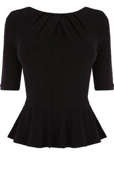 Karen Millen Peplum T-shirt : Tops