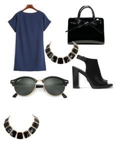 """""""Untitled #10"""" by ana-luiza-meireles on Polyvore featuring Michael Kors and Ray-Ban"""