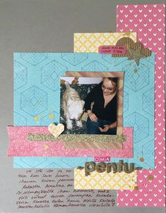 scrapbook layout: Pentu - My puppy by Ninarsku at @studio_calico