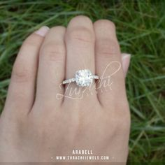 Stunning Elegant silver ring. Beautiful ring perfect engagement/wedding ring inspiration. For more information on this product visit our website. Link in our bio!