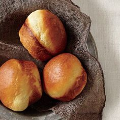 Brioche Rolls   You don't need a brioche pan for this recipe—a muffin tin works well. Start a day ahead, as the overnight rise is essential for bakery-like flavor.