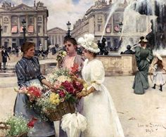 French artist Louis Marie de Schryver (French, 1862-1942) (31 photos)