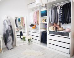 INA.T.: Nové bydlení - Šatna a ložnice