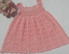 Resultado de imagen para vestidos de nina tejidos a gancho