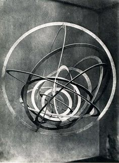 Alexander Rodchenko  Hanging Spatial Construction no. 9 (Circle in a Circle), 1920-1921/1993  Plywood of peach-tree. 90 x 80 x 85 cm  Galerie Gmurzynska Zug