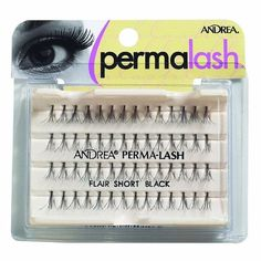 5a72c638194 Andrea PermaLash Flare Short Black #Eye #EyeLashes #Andrea #AndreaLashes # IndividualLashes #
