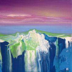 """Saatchi Online Artist Jacob Jugashvili; Painting, """"Green And Blue III"""" #art"""