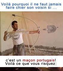 """Résultat de recherche d'images pour """"blague sur les maçon portugais"""""""