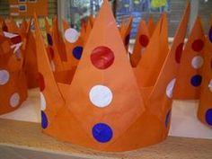 Knutselen koningsdag: knutsel je eigen kroon