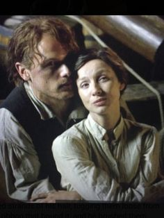Such a beatiful TV couple Jamie and Claire