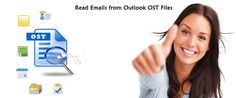 To access MS Outlook OST files data Exchange server should be connected because Outlook doesn't capable to open OST files separately. If someone is facing problem to read information from OST files with Outlook then just download a third party utility that provides facility to read emails including contacts, calendar, notes, task, journals, attachments, HTML links and other attributes.