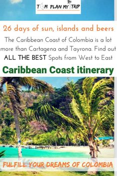 How to spend your holidays on the Colombia Caribbean Coast. Learn about the best spot and get all the information you need to create your Colombia itinerary Ways To Travel, Best Places To Travel, Travel Advice, Travel Guides, Travel Tips, San Francisco, Plan My Trip, 7 Places, Exotic Places