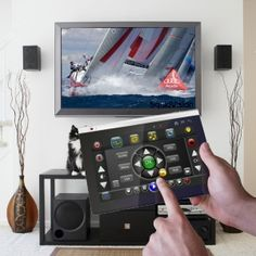 Touchsquid universal remote -an elegant solution which focuses on the control of activities. Universal Remote Control, Activities, Elegant, Classy, Chic