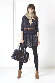 Comptoir des Cotonniers - many layers but look chic