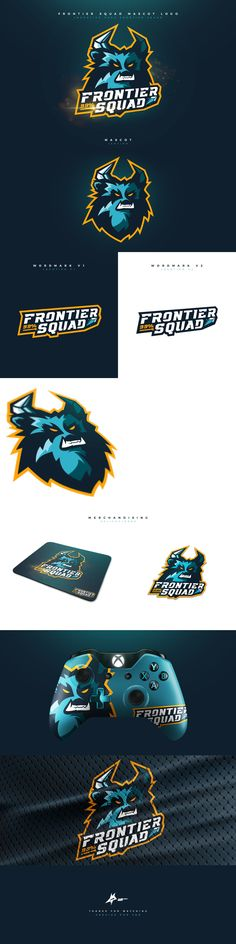 "Check out my @Behance project: ""Frontier Squad Mascot Logo."" https://www.behance.net/gallery/47616115/Frontier-Squad-Mascot-Logo #mascot #logo #esports #sports #branding #brand #yeti #gaming #mascotlogo"