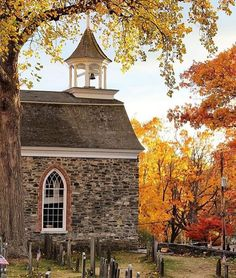 The Old Dutch Church ~ Sleep Hollow, New Hampshire