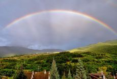 #EstateSmart a #Oulx: ammira l'arcobaleno e condividine la bellezza con il 4G di Vodafone http://voda.it/4g-estate #itinerari4g