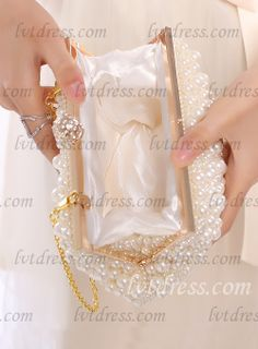 High-end Clutches With Rhinestones