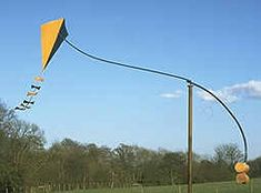 Kite wind vane