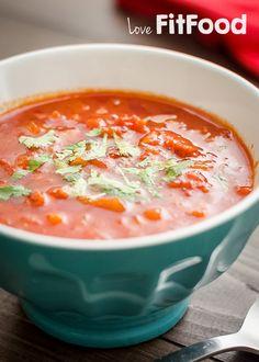 Pittige chorizo soep Chorizo Soup, Paleo Soup, Good Food, Yummy Food, Homemade Soup, Convenience Food, Easy Cooking, Soup And Salad, Eating Habits