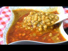 Halwa Puri Ke Chaney   Halwa Poori walay Chole Restaurant Style   Poori K sath Kaye jane wale chane - YouTube