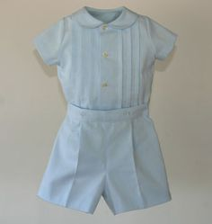 Baby blue set for boy