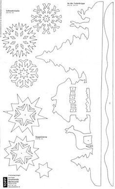 Szablony szablony nail polish jelly - Nail Polishnails polish Szablony szablony nail polish jelly - Nail Polish František Stamper Precizní Die - Winter Village Snowflake Coloring Pages Free Printable FILIGRAN ablakdíszek télre II. Noel Christmas, Christmas Paper, Winter Christmas, Christmas Ornaments, Christmas Colors, Christmas Stencils, Christmas Templates, Christmas Printables, Kirigami