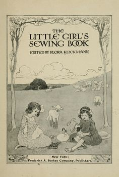 The little girls sewing book (1915)