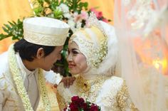 My party wedding #hijab #jawa #modern