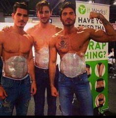 Men wrap too!  Who needs one?                               …
