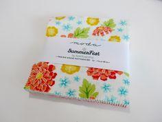 Tuto : Fleurettes avec un charm pack