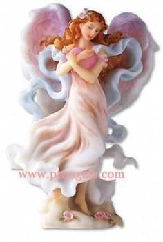Angel Figurine - with a heart for love...