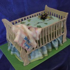 Crib+Cake+-+A+crib+cake+that+looks+great+and+is+awesome+for+any+baby+shower.