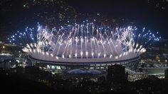 illumination du stade Maracana