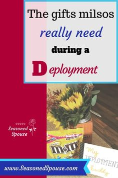 A deployment survival package for the spouse that stays on the homefront. What does a military loved one want in their care package during a deployment? Military Deployment, Military Spouse, Military Veterans, Veterans Discounts, Military Discounts, Military Girlfriend, Military Love, Deployment Care Packages, Army Wives