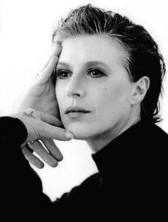 Marianne Faithfull (1946) - English singer, songwriter and actress. Photo by Annie Leibovitz, 1990