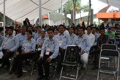 Concursantes del ITC previo a la ceremonia de clausura.