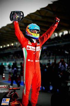 Fernando Alonso, Ferrari, 2012 Malaysian Formula 1 Grand Prix, Formula 1