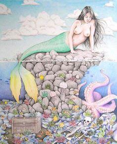 The Mermaid By Marie Grønning